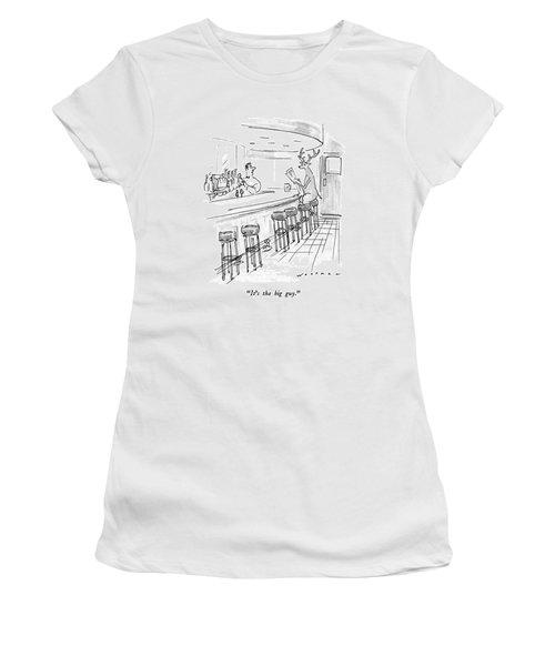 It's The Big Guy Women's T-Shirt