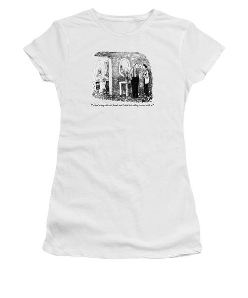 I've Had A Long Talk With Jonah Women's T-Shirt