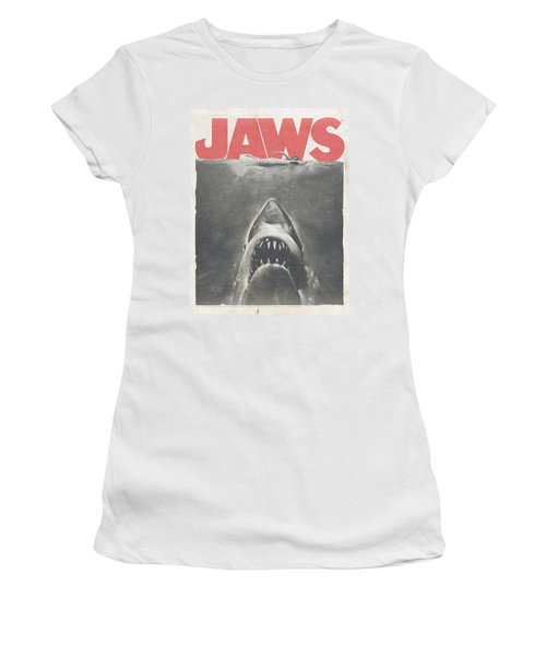 Jaws - Classic Fear Women's T-Shirt (Athletic Fit)