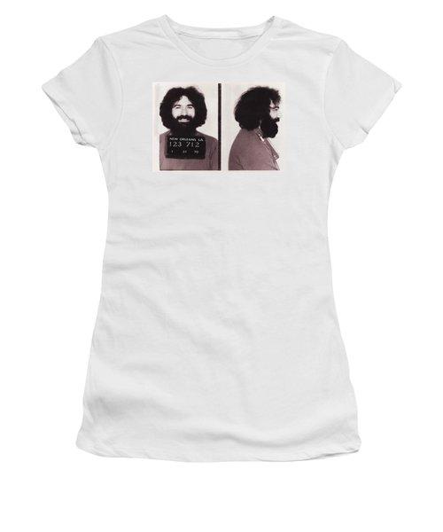 Jerry Garcia Mugshot Women's T-Shirt