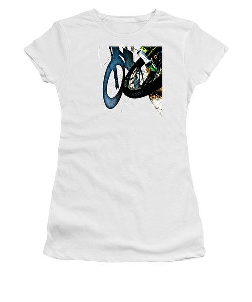 Jersey Barrier Women's T-Shirt (Junior Cut) by Joel Loftus