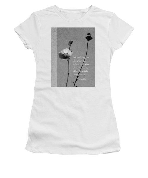 Joy Of Life Women's T-Shirt (Athletic Fit)