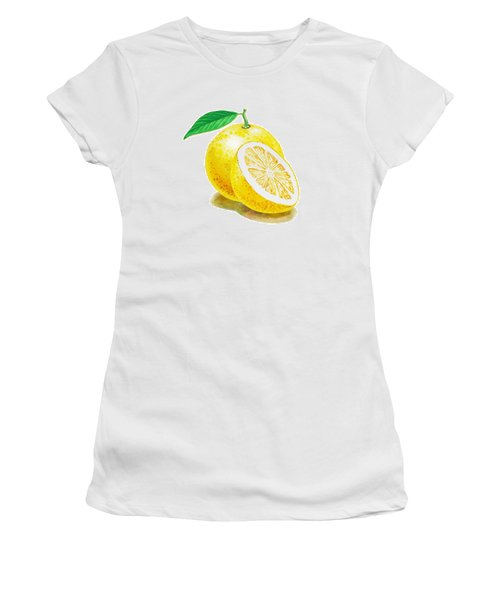 Juicy Grapefruit Women's T-Shirt (Junior Cut)