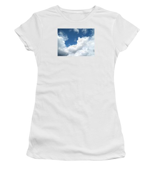 Women's T-Shirt (Junior Cut) featuring the photograph Just Breathe ... by Susan  Dimitrakopoulos