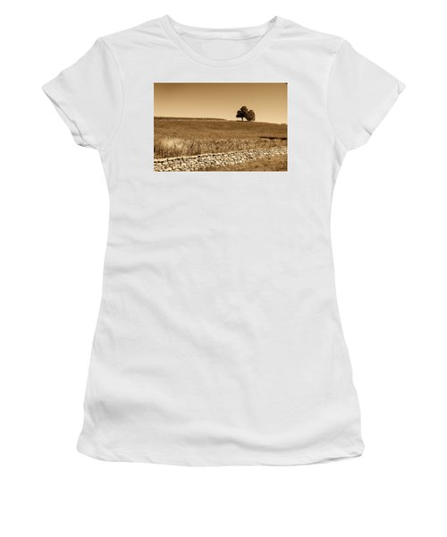 Just The Two Of Us Women's T-Shirt (Athletic Fit)