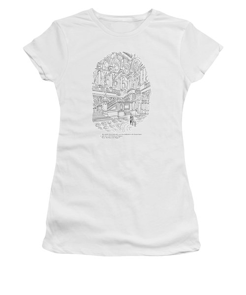 Just Think! Every Book That's Ever Been Published Women's T-Shirt
