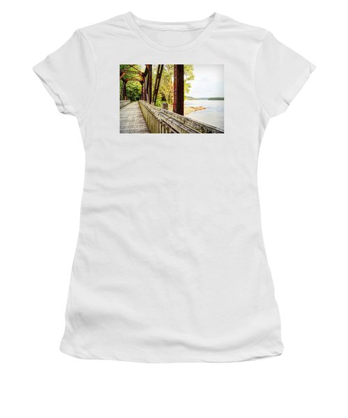 Katy Trail Near Coopers Landing Women's T-Shirt