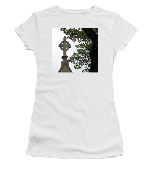 Women's T-Shirt (Junior Cut) featuring the photograph Keeping The Faith by Kay Novy