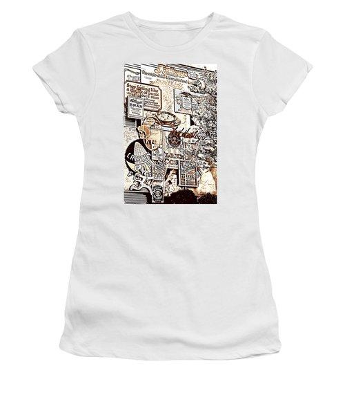 Kellogg's Wall Women's T-Shirt (Junior Cut) by Sennie Pierson