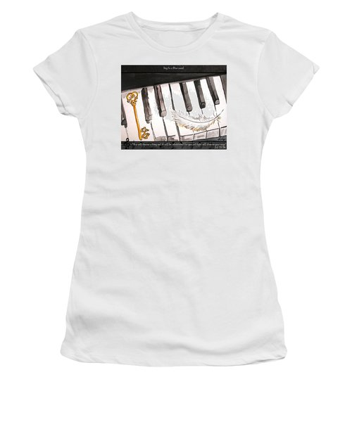Key To A New Sound Women's T-Shirt (Athletic Fit)