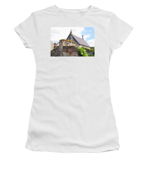 Women's T-Shirt (Junior Cut) featuring the photograph Kilkenny House by Mary Carol Story