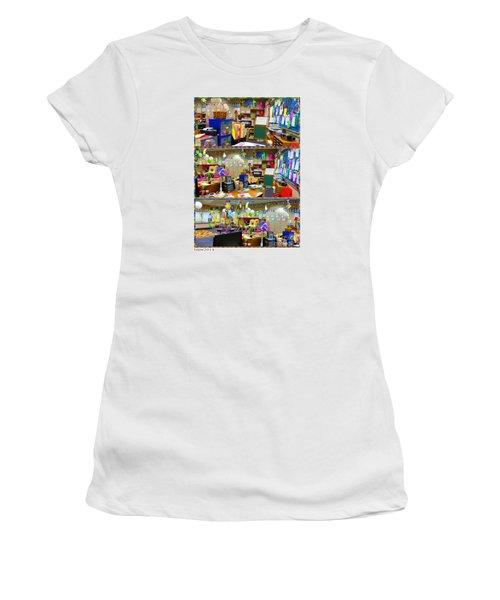 Kindergarten Classroom Women's T-Shirt (Junior Cut) by Tina M Wenger