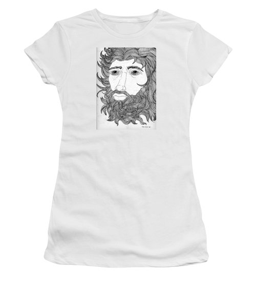 King David Women's T-Shirt (Junior Cut) by Fred Jinkins
