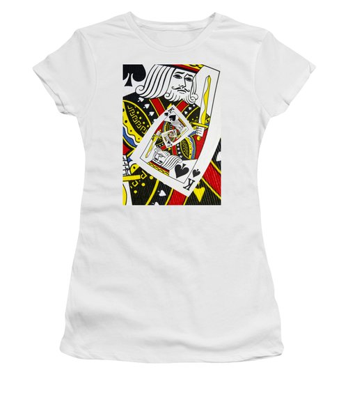 King Of Spades Collage Women's T-Shirt