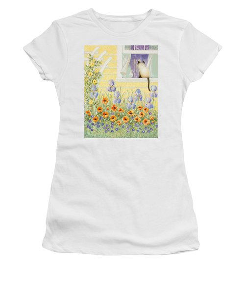 Kitty In The Window Women's T-Shirt