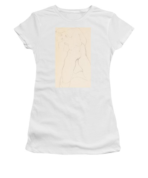 Kneeling Female Nude Women's T-Shirt
