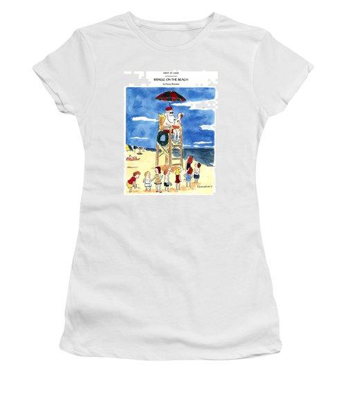 Kringle On The Beach Women's T-Shirt