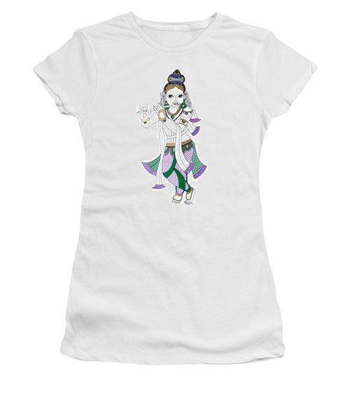 Krishna IIi Women's T-Shirt (Athletic Fit)
