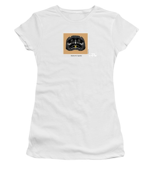 Kwakiutl Speaks Women's T-Shirt