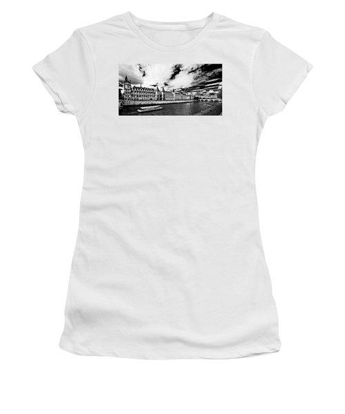 Women's T-Shirt featuring the photograph La Conciergerie / Paris by Barry O Carroll