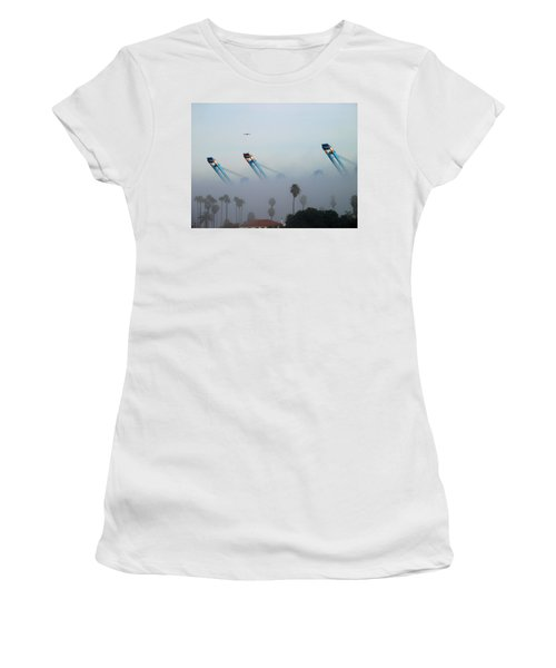 La Harbor Never Sleeps Women's T-Shirt (Athletic Fit)