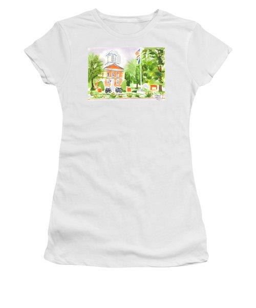 Labor Day Morning  Women's T-Shirt