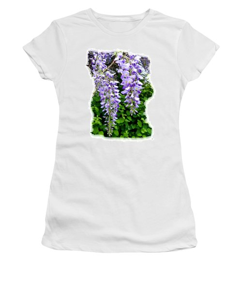 Lake Country Wisteria Women's T-Shirt (Athletic Fit)