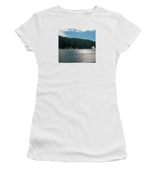 Lake Gregory Women's T-Shirt (Athletic Fit)