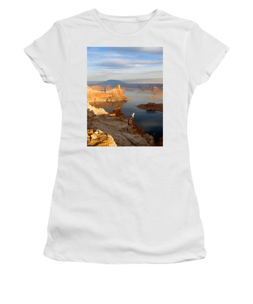 Lake Powell From Alstrum Pt 12 Women's T-Shirt (Athletic Fit)