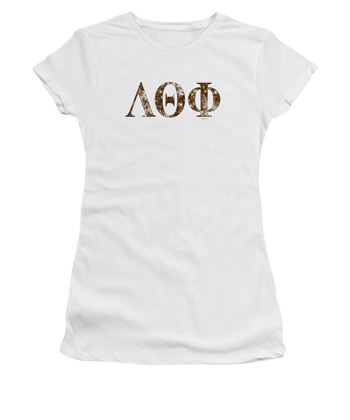 Lambda Theta Phi - White Women's T-Shirt (Junior Cut) by Stephen Younts