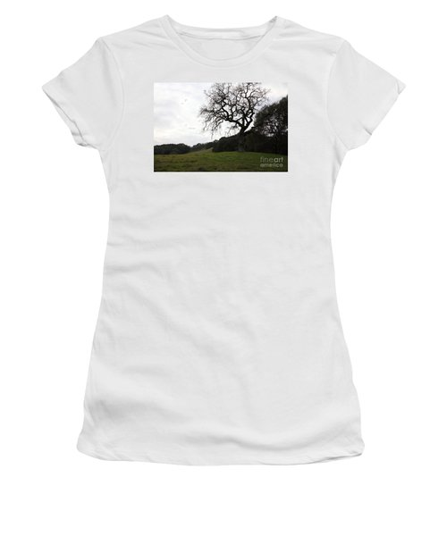 Landscape At Fernandez Ranch California - 5d21097 Women's T-Shirt