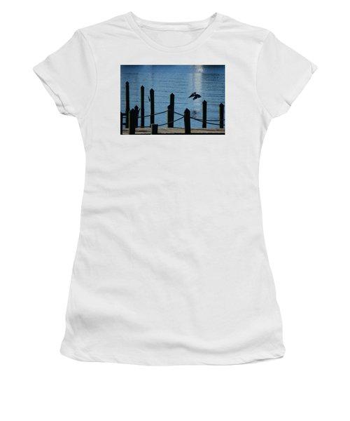 Last Light Flight Women's T-Shirt (Athletic Fit)