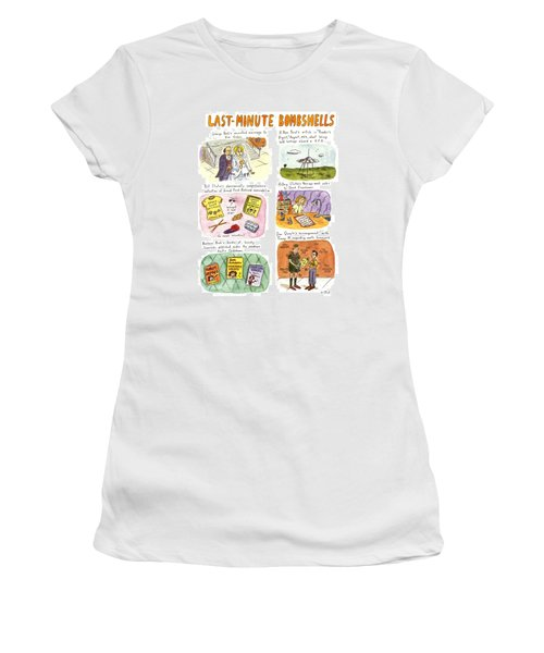 Last-minute Bombshells Women's T-Shirt (Athletic Fit)