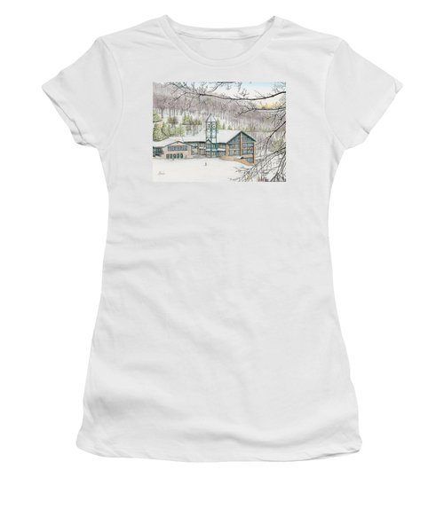 Last Run Of The Day Women's T-Shirt (Athletic Fit)