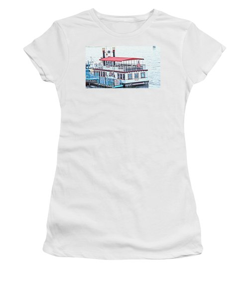 Laughlin Riverboat Women's T-Shirt (Athletic Fit)