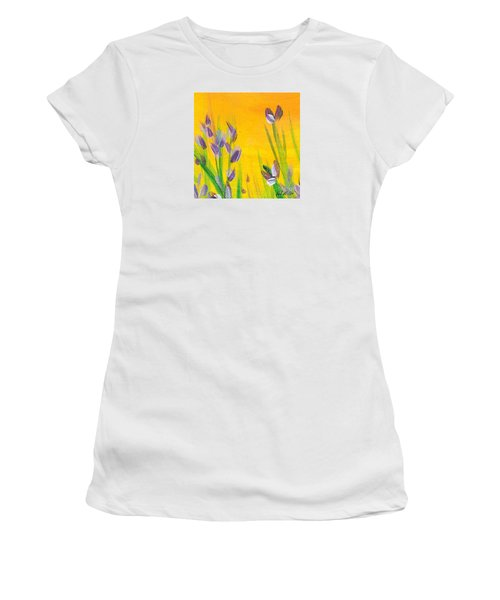 Lavender - Hanging Position 1 Women's T-Shirt (Athletic Fit)