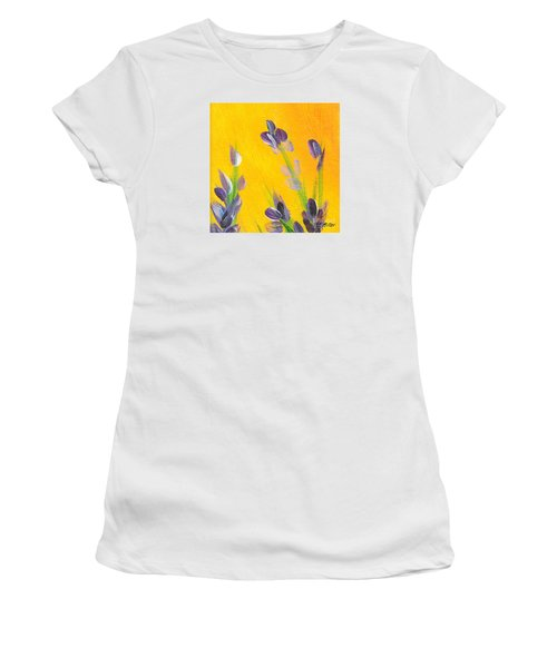 Lavender - Hanging Position 2 Women's T-Shirt (Athletic Fit)