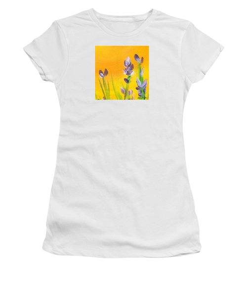 Lavender - Hanging Position 3 Women's T-Shirt (Athletic Fit)