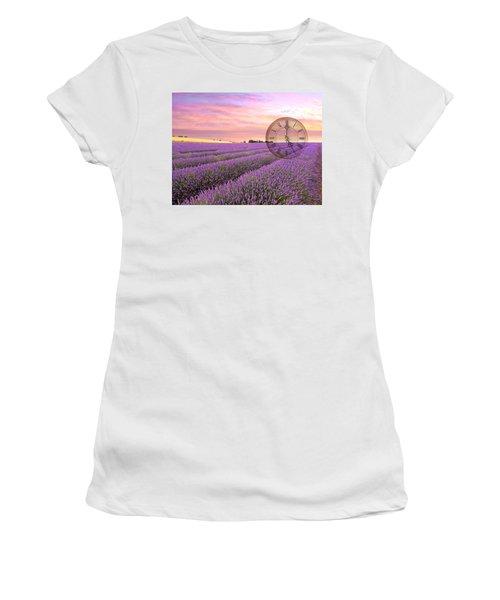 Lavender Time Women's T-Shirt