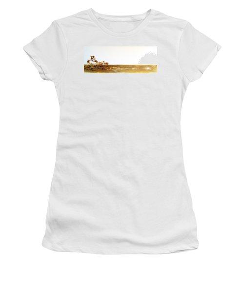 Lazy Dayz Cheetah - Original Artwork Women's T-Shirt