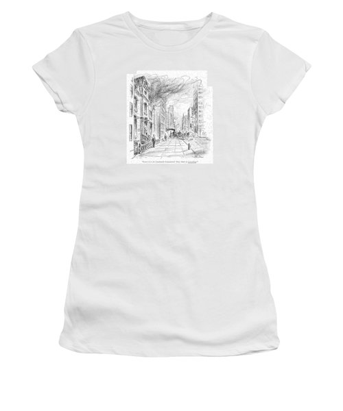 Leave It To The Landmarks Commission! They Think Women's T-Shirt