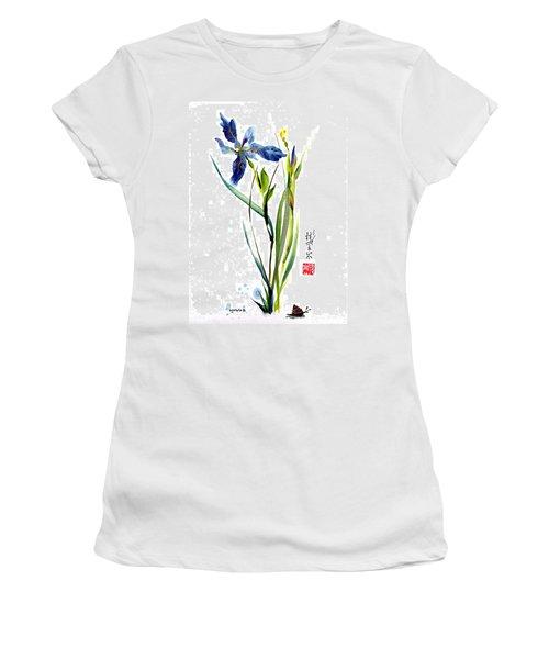 Leaving Zen Women's T-Shirt (Athletic Fit)