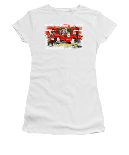 Lego Pit Stop Women's T-Shirt (Athletic Fit)