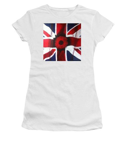 Lest We Forget Women's T-Shirt (Athletic Fit)