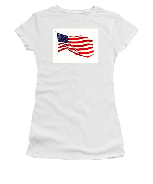 Let Freedom Reign Women's T-Shirt (Athletic Fit)