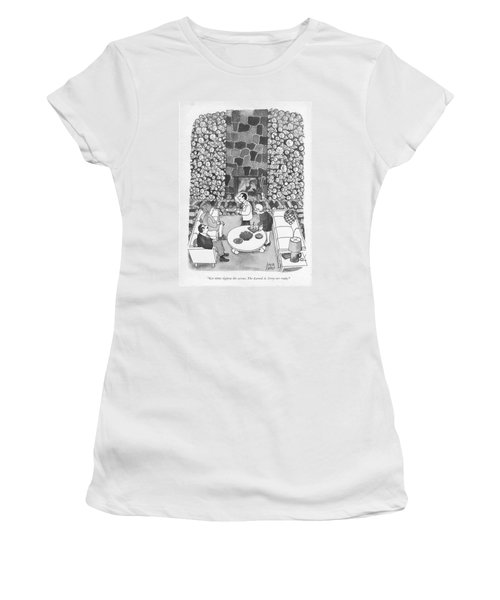 Let Opec Tighten The Screws. The Larned A. Corys Women's T-Shirt