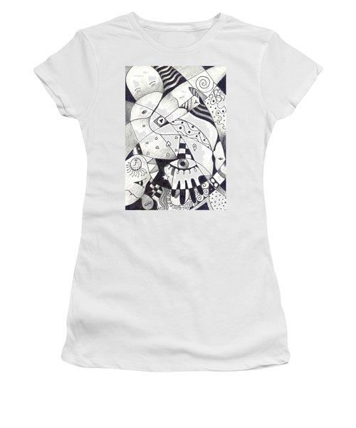 Let Us Dance Women's T-Shirt (Athletic Fit)