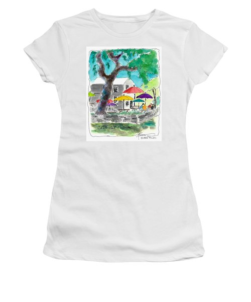 Let's Eat Outside Women's T-Shirt