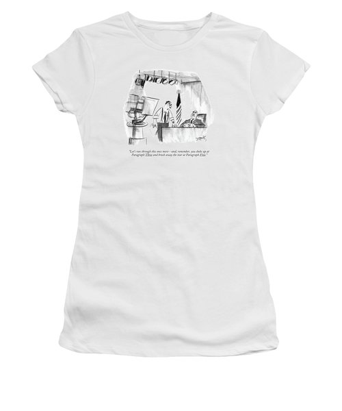 Let's Run Through This Once More - Women's T-Shirt