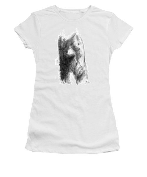 Light And Shadow Women's T-Shirt (Athletic Fit)
